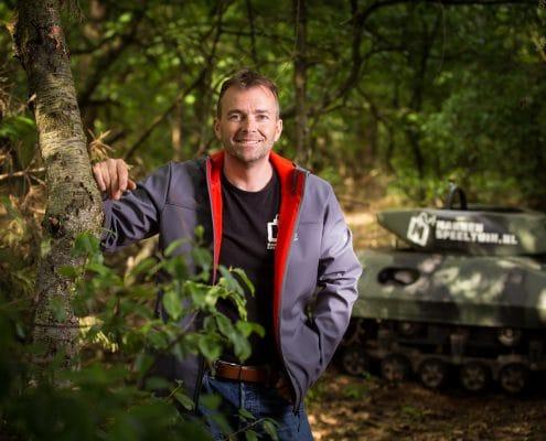 Ragnar van der Heijden organisator van unieke outdoor activiteiten