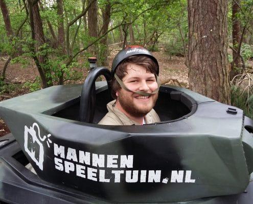 Mini Tank rijden Breda